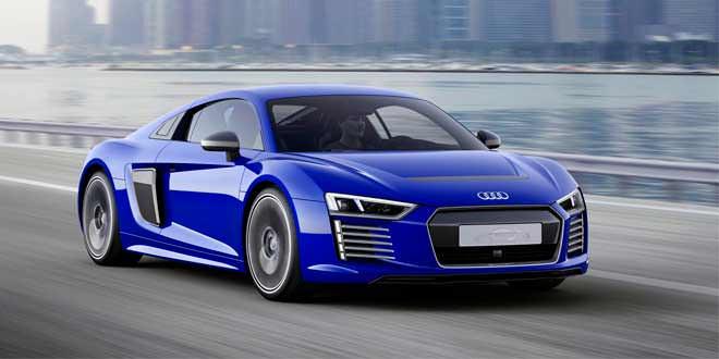 Электрический суперкар Audi R8 e-tron получил версию с автопилотом