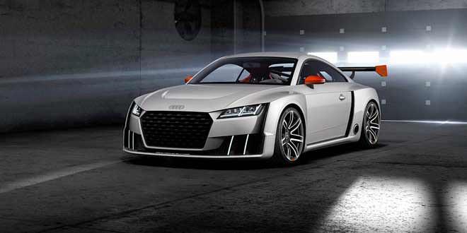 600-сильная Audi TT Clubsport мчится на фестиваль GTI