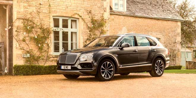 Вслед за Bentley Bentayga выйдет среднеразмерный кроссовер