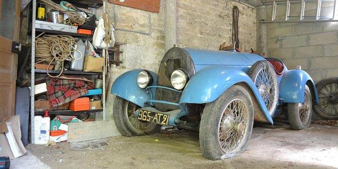 Раритетный Bugatti Brescia уйдет с молотка