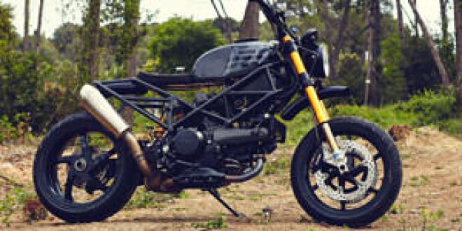 Мастерская Ad Hoc подготовила кастом из Ducati Multistrada