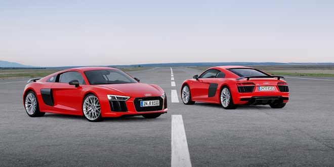 Озвучены цены на новую Audi R8 в Германии