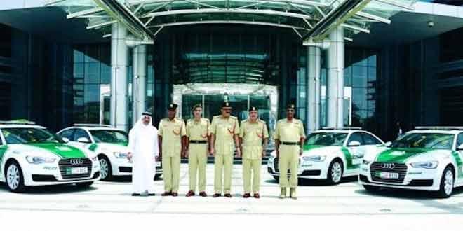 На службу дубайской полиции встало шесть новеньких Audi A6