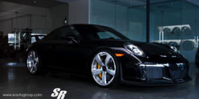 Porsche 911 GT3 на ретро дисках от SR Auto Group