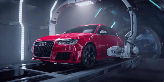 Рождение Audi RS3 Sportback… не для слабонервных!