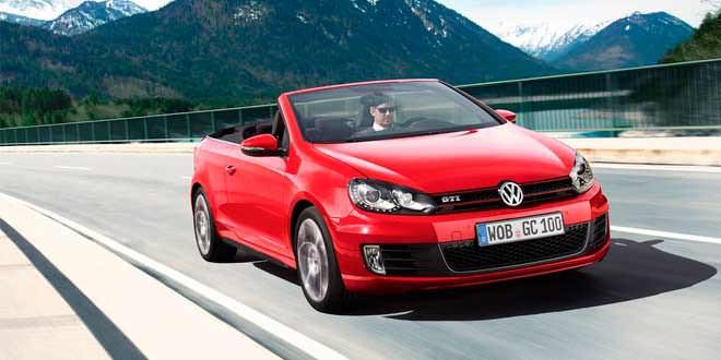 Новые двигатели Euro-6 сделали VW Golf Cabriolet на 15% экономичнее