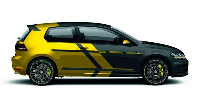 На фестивале Wörthersee покажут еще один концепт VW Golf GTI
