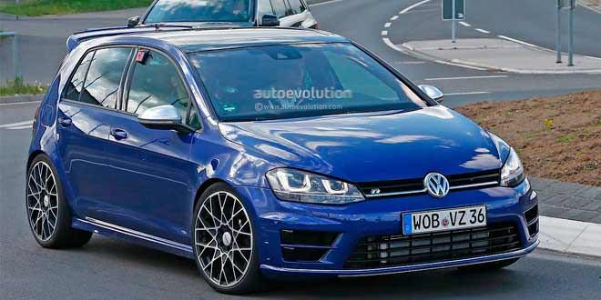 Компания Volkswagen тестирует самый мощный Golf на «Северной петле»