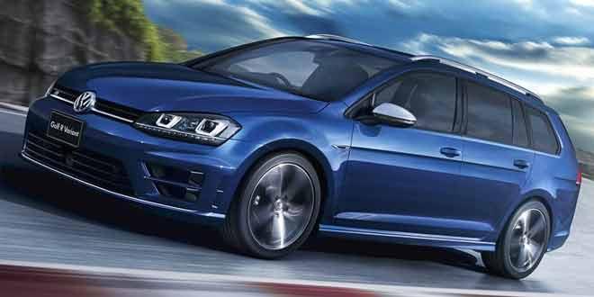 Volkswagen Golf R Variant добрался до японского рынка