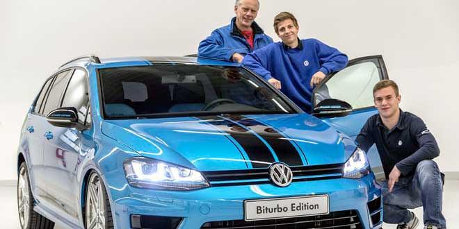 Универсал VW Golf Variant от стажёров Volkswagen
