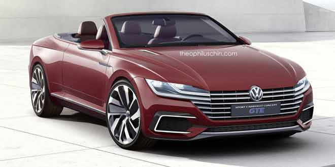 Volkswagen Sport Cabriolet Concept GTE — замена для VW Eos