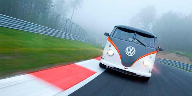«Гоночное такси» из Volkswagen T1