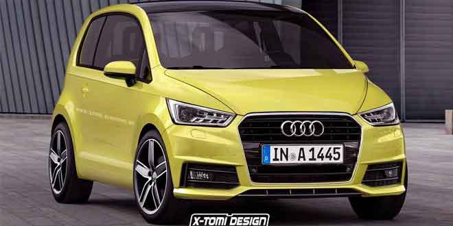 Рендер Audi A2 от X-Tomi Design