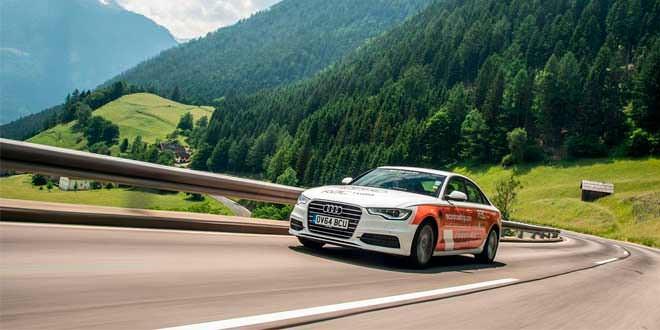 Дизельная Audi A6 2.0 TDI проехала на одном баке 1865 км