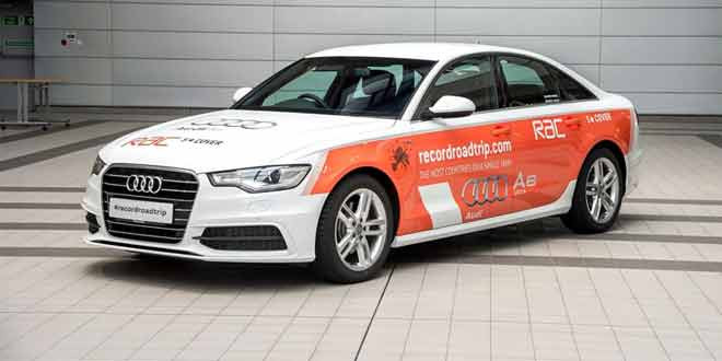 Audi A6 2.0 TDI установит новый рекорд Гиннесса