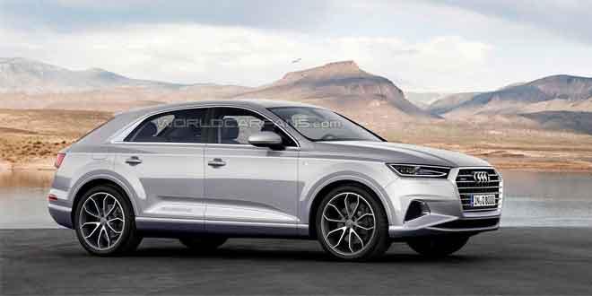 Рендер Audi Q8