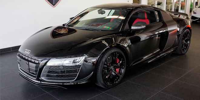 Продаётся редкий экземпляр Audi R8 Competition