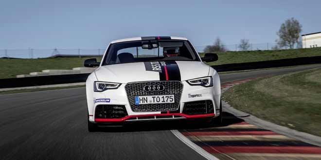 Концепт Audi RS5 TDI показал хорошие результаты на трассе Заксенринг