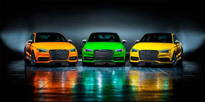 Audi показала пять спецверсий S3