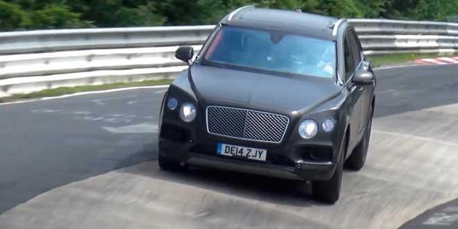 Bentley Bentayga вернулся штурмовать Нюрбургринг