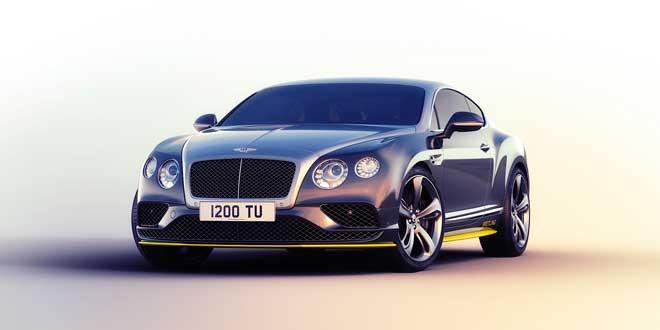 Bentley Continental GT Speed получил ограниченную спецсерию