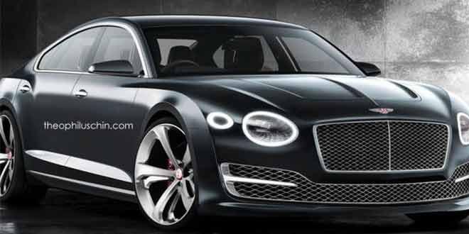 Четырехдверное купе из концепта Bentley EXP 10 Speed 6