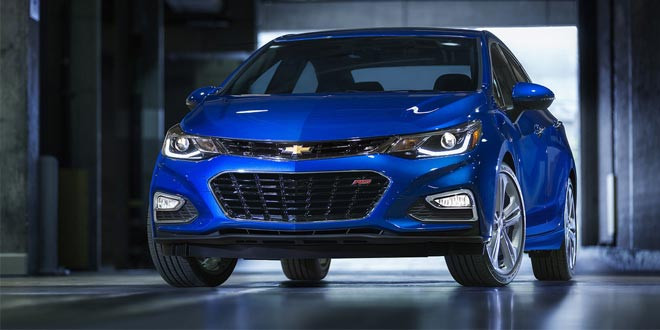 Официально рассекречен новый Chevrolet Cruze