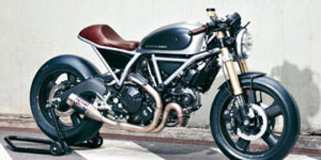 Ducati Scrambler от Holographic Hammer
