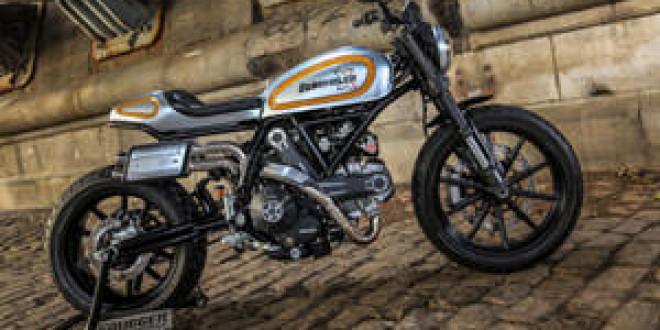 Кастом Ducati Scrambler Magione