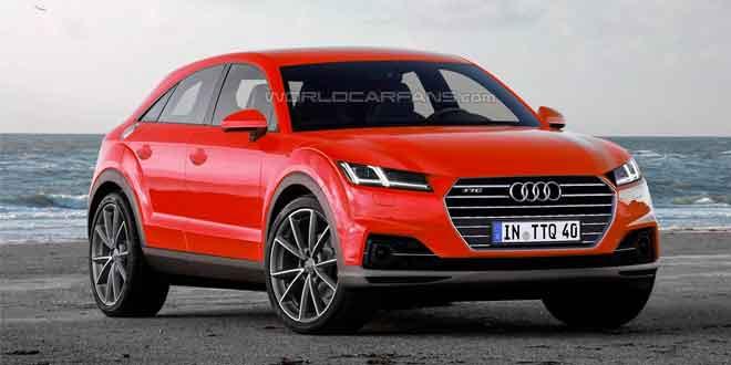 Рендер Audi TTQ на базе концепта TT Offroad