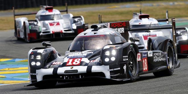 Команда Porsche победила в 24-часовом марафоне Ле-Мана