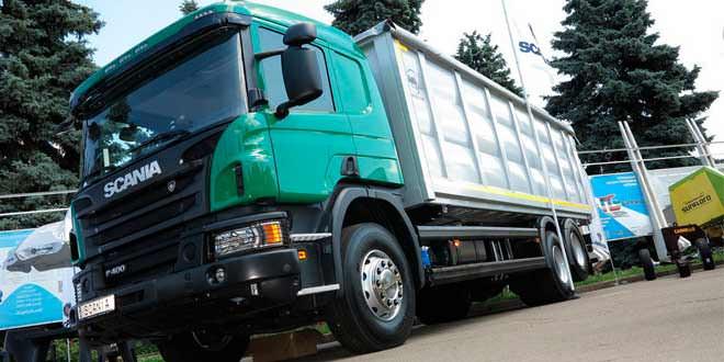 Scania показала грузовики с пакетом Off-road на выставке «Агро 2015» в Киеве