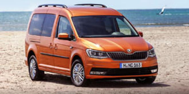 Рендер Skoda Roomster по мотивам VW Caddy