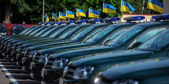 Украинским пограничникам выдали пикапы VW Amarok и микроавтобусы VW Transporter