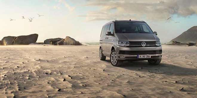 Представлен кемпер Volkswagen California нового поколения