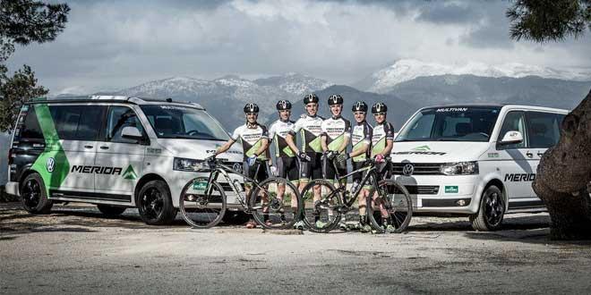 Volkswagen поддержал команду велобайкеров Multivan Merida Biking Team