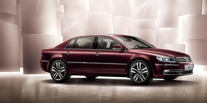 Volkswagen Phaeton для китайского рынка обновился
