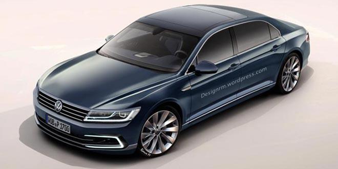 Volkswagen Phaeton 2017 года получит гибридную версию