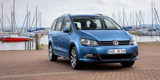 Новая информация о рестайлинговом VW Sharan и свежие фото