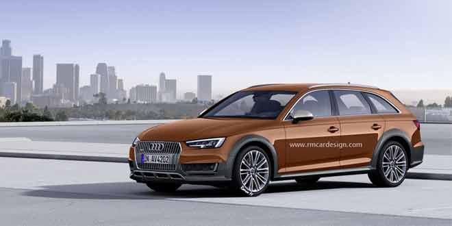 Рендер внедорожной версии Audi A4 allroad