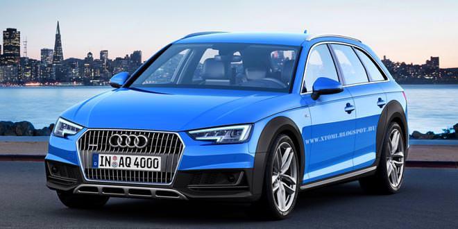 Стильный allroad из новой Audi A4