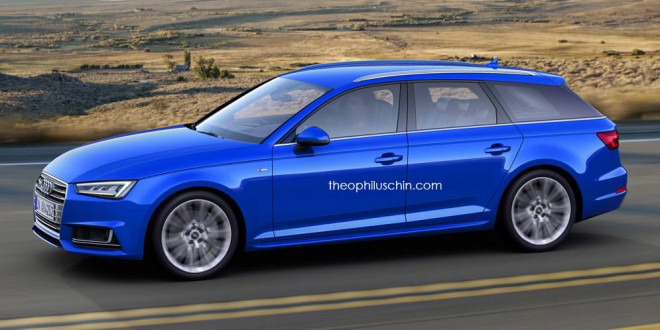 Альтернативный дизайн для универсала Audi A4 Avant