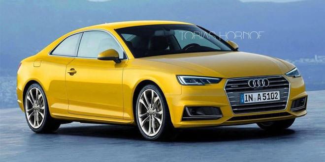 Рендер Audi A5 Coupe: третья попытка
