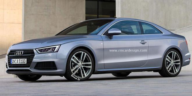 Очередной рендер Audi A5