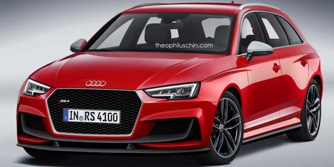 Еще один любительский рендер Audi RS4 Avant
