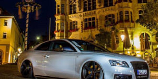 Заниженная Audi S5 от mbDESIGN