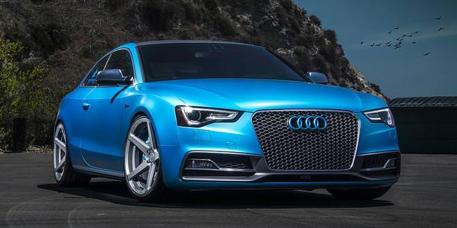 Audi S5 позирует на катках V-FF 104 от Vorsteiner