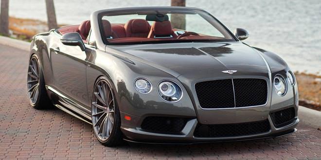 Bentley Continental GTC V8 S на дисках HRE