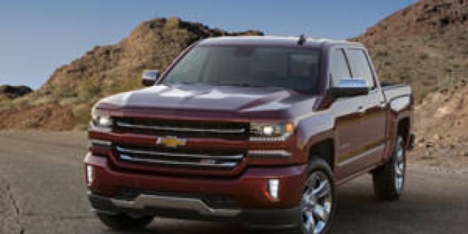 Компания Chevrolet показала обновленный пикап Silverado