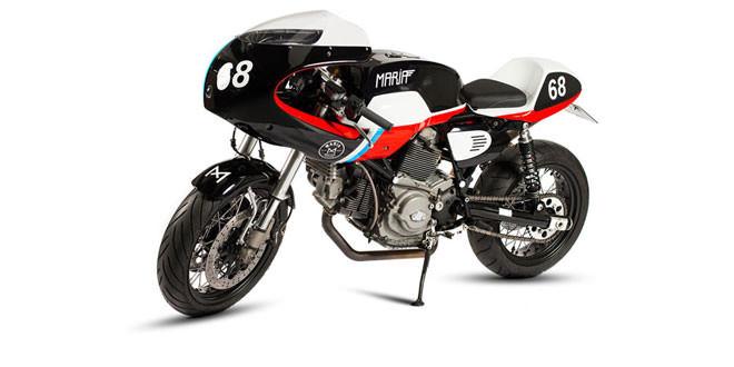 Ателье Maria Motorcycles подготовило кастом Ducati GT1000